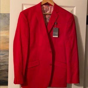 Beautiful red blazer very soft